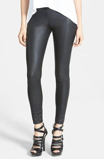 Glamorous Faux Leather Leggings