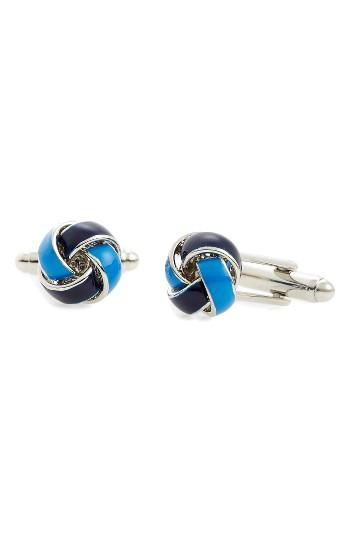 Men's Link Up Knot Cuff Links