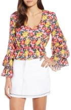 Women's The Fifth Label Reunion Floral Print Blouse, Size - Pink