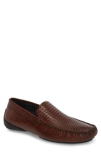 Men's Karl Lagerfeld Paris Driving Shoe M - Brown