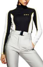 Women's Equipment Sheer Silk Chiffon Blouse - Black