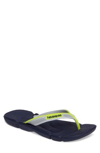 Men's Havaianas 'power' Flip Flop /8 M - Blue