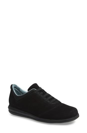 Women's David Tate Dynamic Slip-on Sneaker .5 N - Black