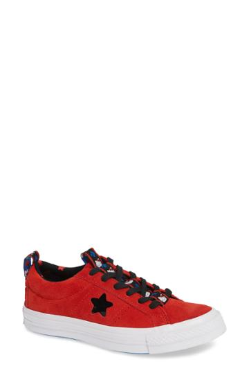 Women's Converse One Star Hello Kitty Sneaker M - Red