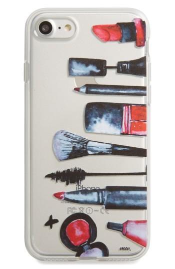 Milkyway Makeup Essentials Iphone 7 Case - Black