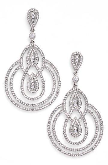 Women's Nadri Teardrop Earrings