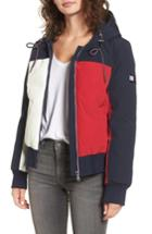 Women's Tommy Hilfiger Hooded Colorblock Jacket