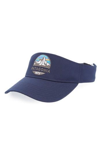 872012ca0252e Men s Patagonia Fitz Roy Scope Visor - Blue