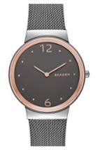 Women's Skagen 'freja' Mesh Strap Watch, 34mm