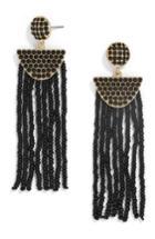 Women's Baublebar Beaded Deco Drop Earrings
