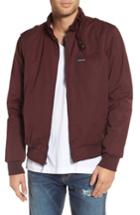 Men's Members Only Twill Iconic Jacket, Size - Burgundy