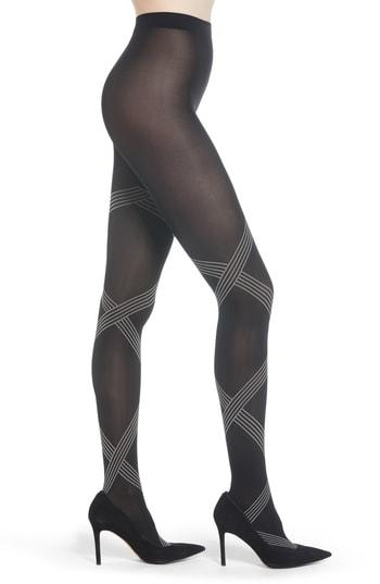 Women's Wolford Cecilia Tights - Black