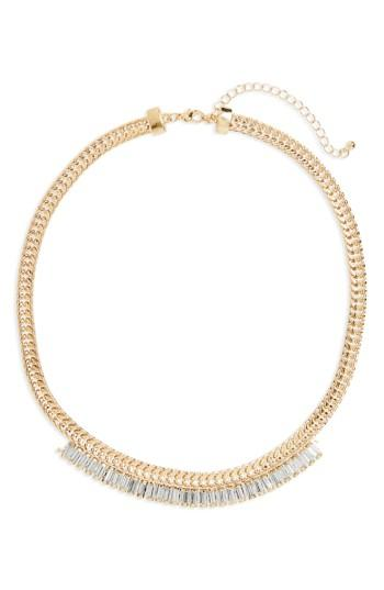 Women's Bp. Crystal & Chain Necklace