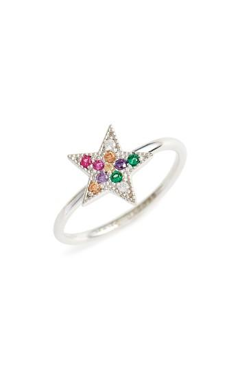 Women's Marc Jacobs Rainbow Star Stack Ring