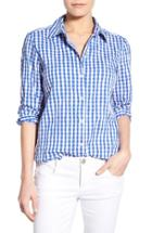 Women's Foxcroft Crinkled Gingham Shirt