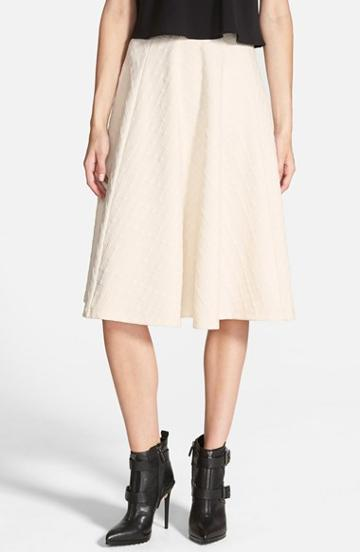 Women's J.o.a. Textured Midi Skirt, Size