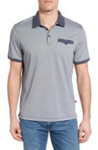 Men's Victorinox Swiss Army Colorblock Polo - Blue