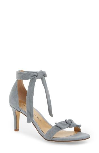 Women's Chinese Laundry Rhonda Ankle Tie Sandal .5 M - Blue