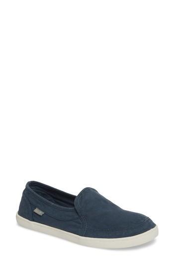 Women's Sanuk 'pair O Dice' Slip On M - Blue