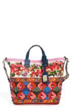 Dolce & Gabbana Carretto Print Canvas Shoulder Bag -