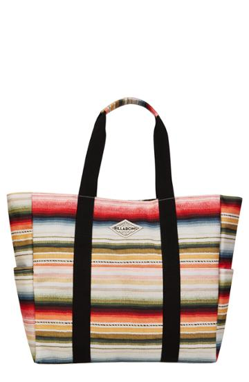 Billabong Totally Totes Stripe Tote - Black