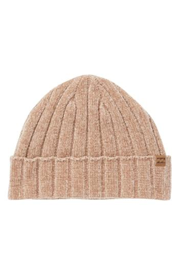 Women's Billabong Warm Up Chenille Beanie - Beige