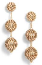 Women's Tasha Crystal Ball Drop Earrings