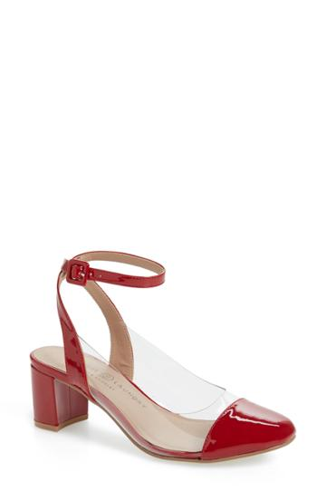 Women's Chinese Laundry Linnie Pump M - Red
