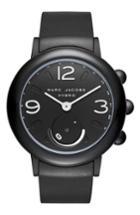 Women's Marc Jacobs Riley Hybrid Rubber Strap Watch, 42mm