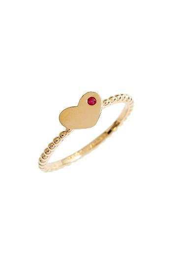 Women's Marc Jacobs Heart Stack Ring