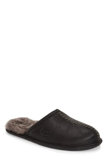 Men's Ugg Scuff - Deco Genuine Shearling Slipper
