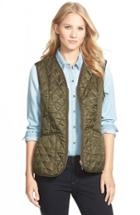 Women's Barbour 'beadnell' Quilted Liner Us / 10 Uk - Green