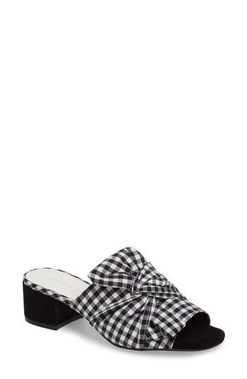 Women's Chinese Laundry Marlowe Knotted Slide Sandal M - Black