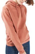 Women's Topshop Oversize Hoodie Us (fits Like 0) - Metallic