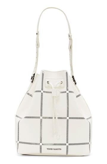 Vince Camuto 'tobi' Bucket Bag - White