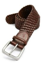 Men's Polo Ralph Lauren Braided Leather Belt