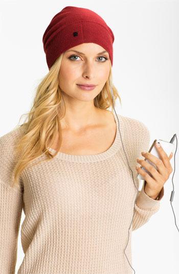 U R Wired Tech Hat Claret Heather One Size