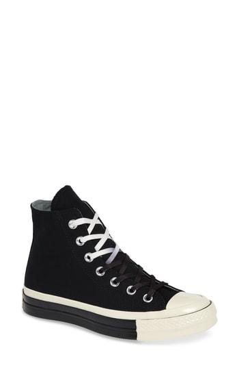 Women's Converse Chuck Taylor All Star 70 Colorblock High Top Sneaker M - Black