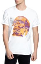 Men's True Religion Brand Jeans Thermal Skull T-shirt - White