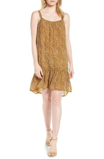 Women's Rebecca Minkoff Madison Floral Sundress, Size - Yellow