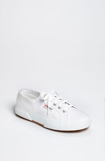 Women's Superga 'cotu' Sneaker .5us / 37eu - White