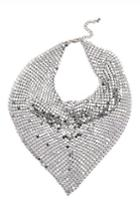 Women's Topshop Chain Mail Scarf Necklace