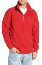 Men's Tommy Jeans Tjm Classics Half Zip Fleece Pullover