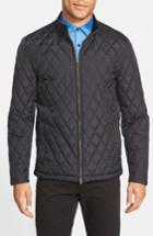 Men's Vince Camuto Quilted Moto Jacket - Black
