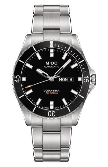 Men's Mido Ocean Star Automatic Bracelet Watch, 42.5mm