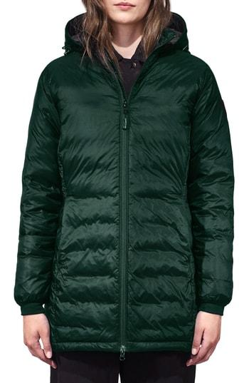 Petite Women's Canada Goose Camp Fusion Fit Packable Down Jacket P (0p) - Green