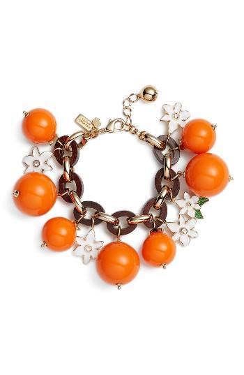 Women's Kate Spade New York Citrus Crush Charm Bracelet