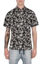 Men's Zanerobe Kahuna Box Shirt - Black