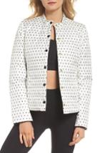 Women's Kate Spade New York Reversible Quilted Jacket - Ivory