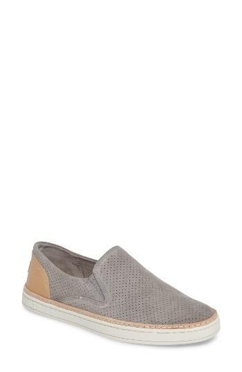 Women's Ugg Adley Slip-on Sneaker .5 M - Grey